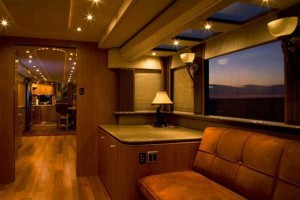 luxury travel trailer